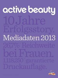 active beauty - Styria Multi Media Corporate