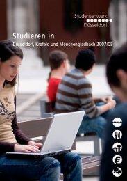 Studieren 18.09.qxd - Studentenwerk Düsseldorf
