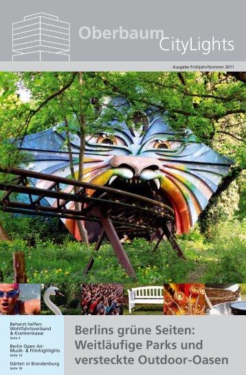 Ausgabe Frühjahr/ Sommer 2011 - Oberbaum City