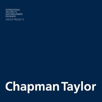 GROUP PROJECTS - Chapman Taylor
