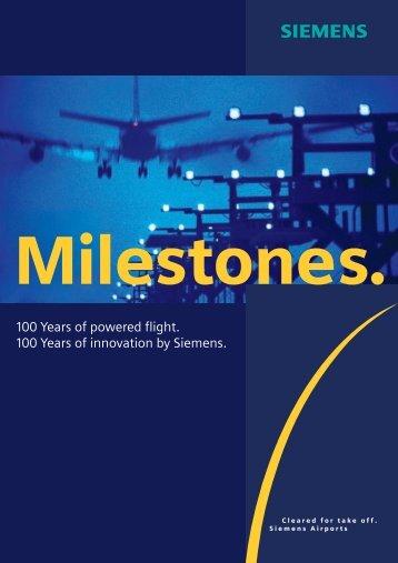 Milestones. - Home Page DGLR Bezirksgruppe München