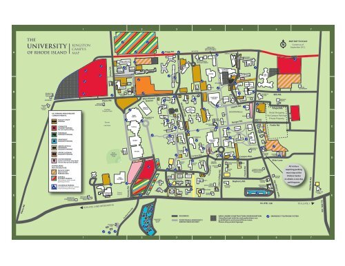 Bleed KINGSTON CAMPUS MAP on
