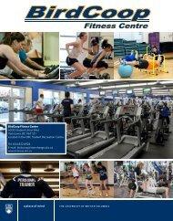 BirdCoop Fitness Centre 6000 Student Union Blvd ... - UBC Birdcoop