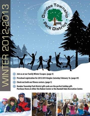 Brochure for Download (PDF) - Dundee Township Park District