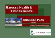 Barossa Health & Fitness Centre - The Barossa Council