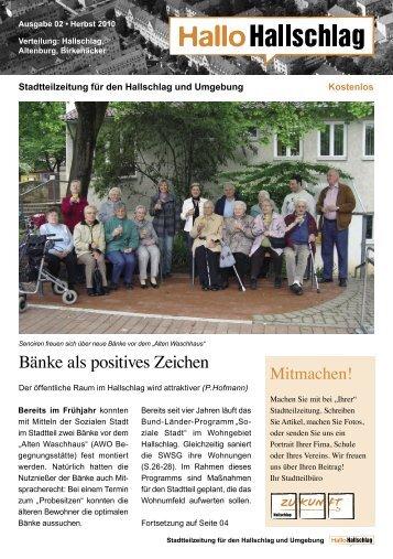 hallo _hallschlag_rz.indd - Zukunft Hallschlag