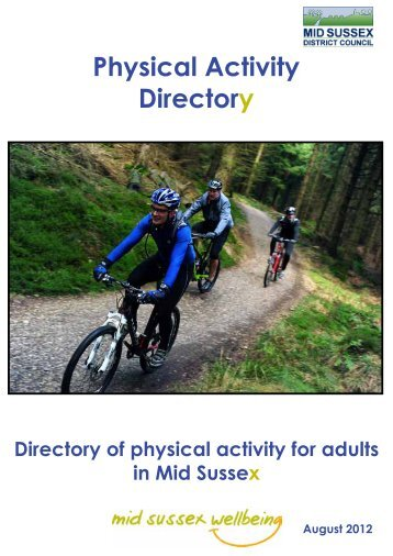 Physical Activity Directory - Mid Sussex Wellbeing - Mid Sussex ...