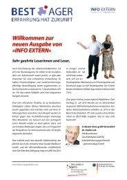 Info EXTERN (Ausgabe 12, September 2012) - Best Ager