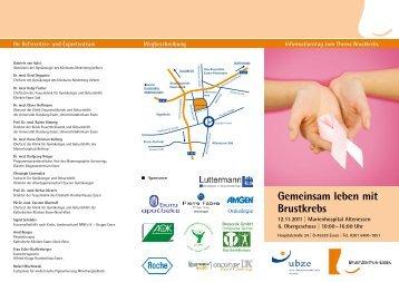 Gemeinsam leben mit Brustkrebs - Uni-Brustzentrum Essen