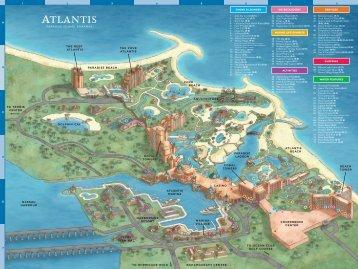 Resort Map - Atlantis Resort and Casino