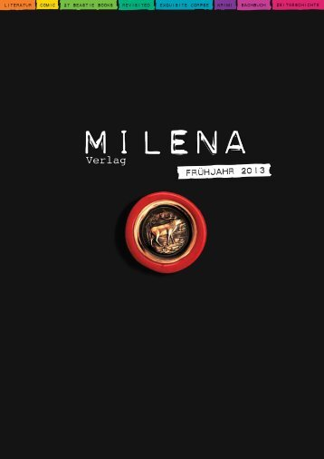 Frühjahrsvorschau 2013! - Milena Verlag