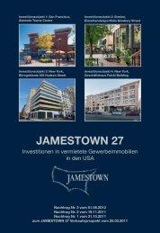 Nachträge 1 - 3 - Jamestown