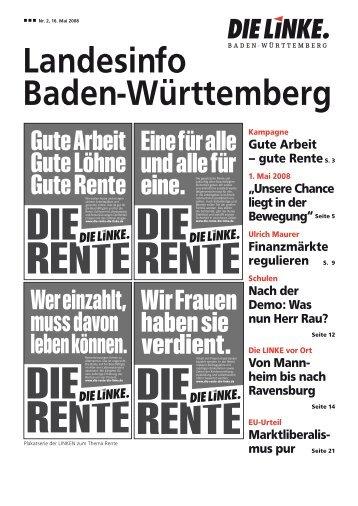 ÜE]okÜ···ÜE]ok - DIE LINKE. LV Baden-Württemberg