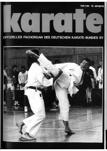DKB-Fachorgan Nr. 3 - Chronik des Karate