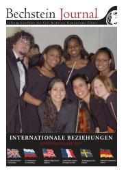 INTERNATIONALE BEZIEHUNGEN - Carl Bechstein Gymnasium