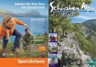 Starten Sie Ihre Tour bei SportScheck - DAV Sektion Schwaben