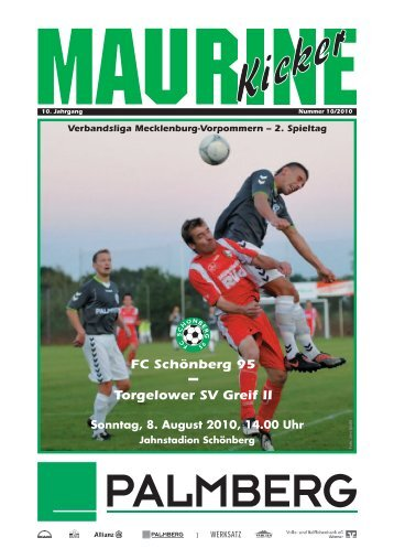 Torgelower SV Greif II - FC Schönberg 95
