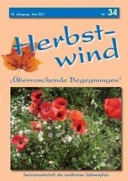 Herbstwind - Liebe Leserinnen, liebe Leser