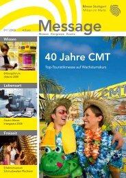 Message Ausgabe 1/2008 - Messe Stuttgart