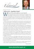 Der pflanzliche Arzneischatz Schwerpunktthema - phytotherapie.co.at - Seite 3