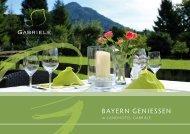 GBayern genieSSen - Hotel Gabriele