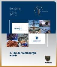 PDF, 992 KB - Tag der Metallurgie in Goslar, 14.