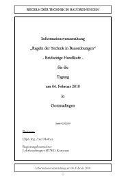 Regeln der Technik in Bauordnungen - Deutsches Institut für ...
