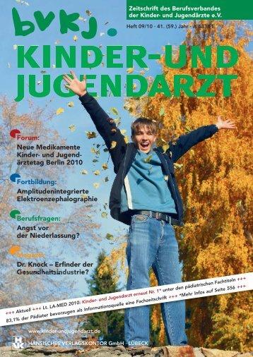 Zeitschrift des Berufsverbandes der Kinder - kinder- und jugendarzt