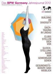 Das BPW Germany Jahresjournal 2012 - Equal Pay Day