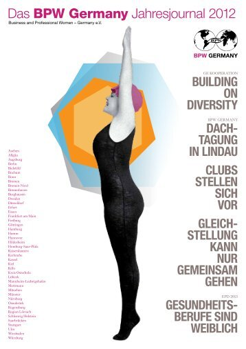 Das BPW Germany Jahresjournal 2012 - Equal Pay Day