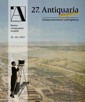 Antiquaria 2010 - Antiquaria-Ludwigsburg