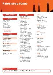 Partenaires Points - RCI.com