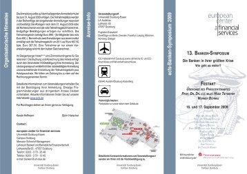 13. banken-symposium - ecfs
