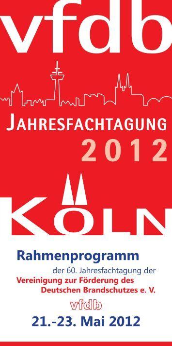 Rahmenprogramm zur Fachttagung - Stadt Köln