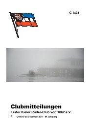 Ausgabe 4/2011 - Erster Kieler Ruder-Club von 1862 e.V.