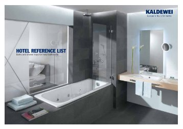 Hotel Reference List - IL Bagno