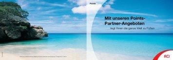 Mit unseren Points- Partner-Angeboten - RCI.com