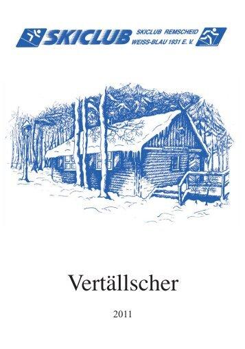 """Einladung - Skiclub Remscheid """"Weiß-Blau"""""""