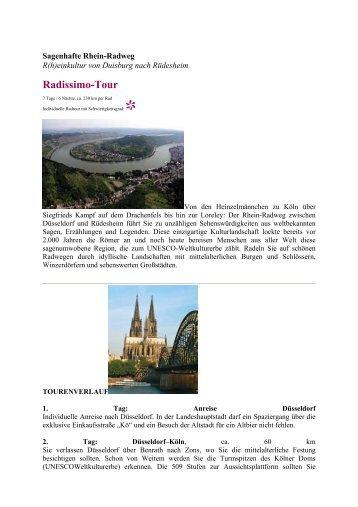 Radissimo-Tour - Eine Welt Reisen