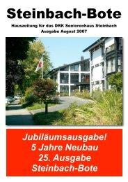 Unser Ehrenamt - DRK-Seniorenhaus Steinbach