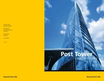 Post Tower - Deutsche Post DHL