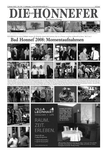 Momentaufnahmen - Die Bad Honnefer Wochenzeitung