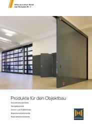 PDF Katalog von Produkte für den Objektbau zum - Hörmann KG