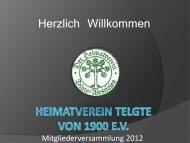 Tagesordnung - Heimatverein-Telgte von 1900 e.V.