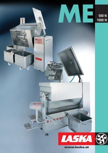Mixing machine ME 1000 - Maschinenfabrik Laska