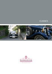 CLASSICS - Romantik Hotels & Restaurants International