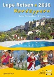 Ferienhäuser - Lupe Reisen