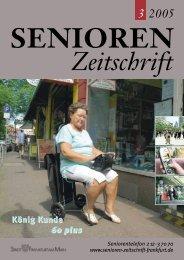 SZ 01/2005-Druck - Senioren Zeitschrift Frankfurt
