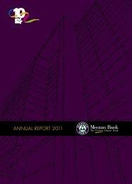ANNUAL REPORT 2011 - Meezan Bank Ltd.