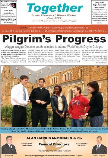 Pilgrim's Progress - Catholic Diocese of Wagga Wagga